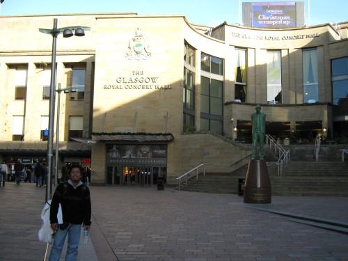 Salah satu sudut Glasgow